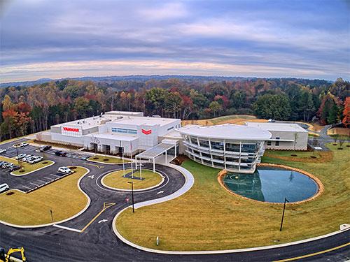 evo center aerial shot